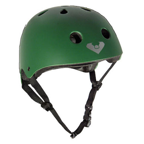 Viking Helmet - Flat Green