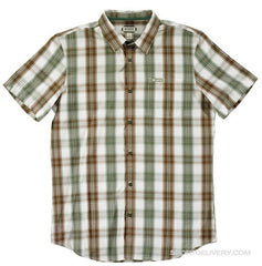 Habitat Larix Men's Collared Shirt - Tan