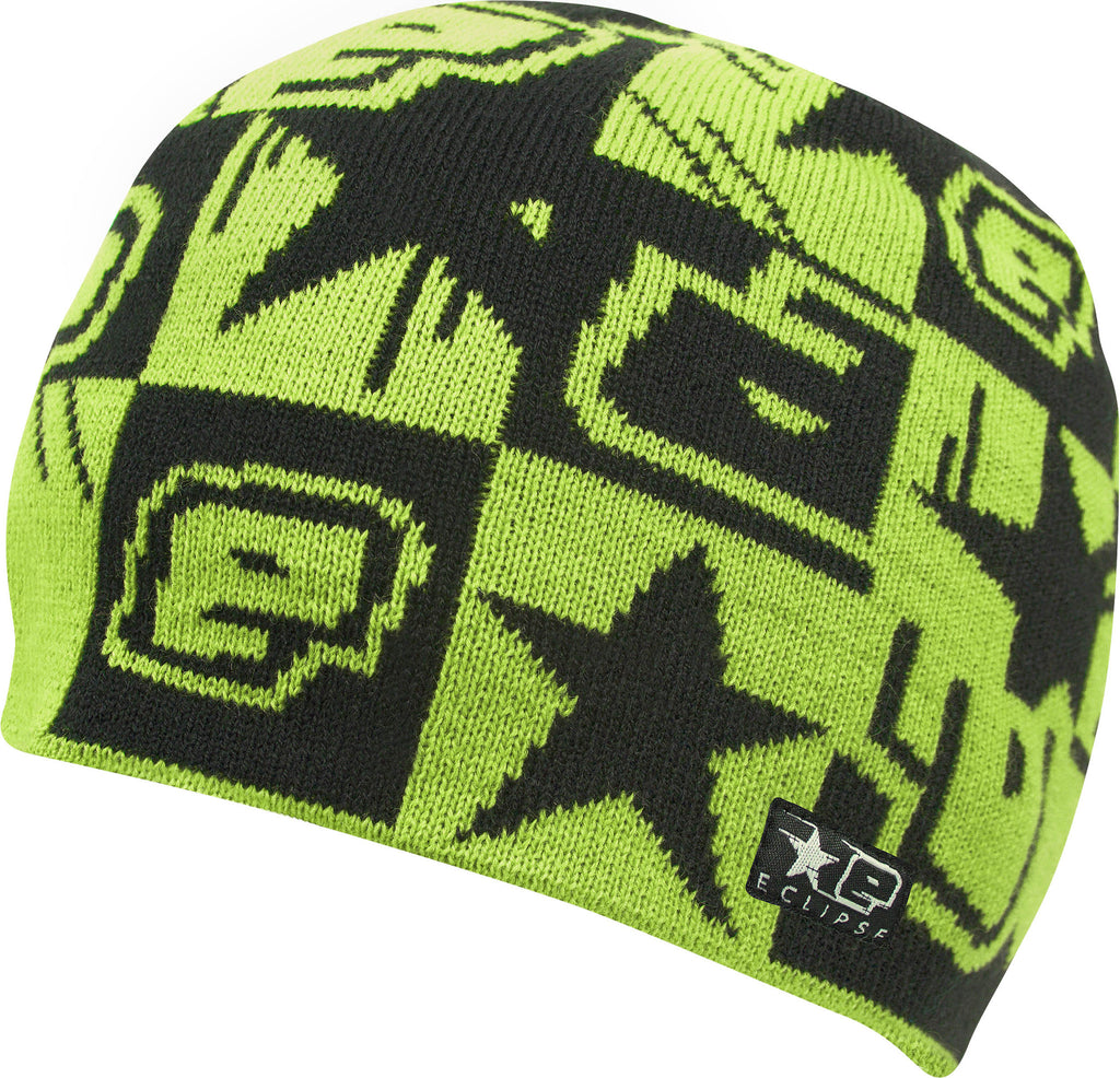 Planet Eclipse 2013 Squared Beanie - Black Green