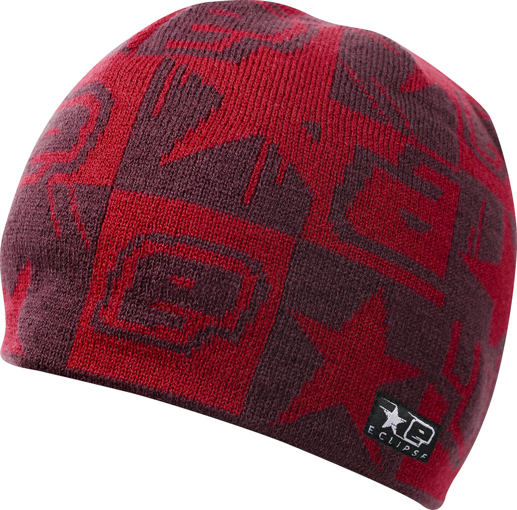 Planet Eclipse 2013 Squared Beanie - Plum Red