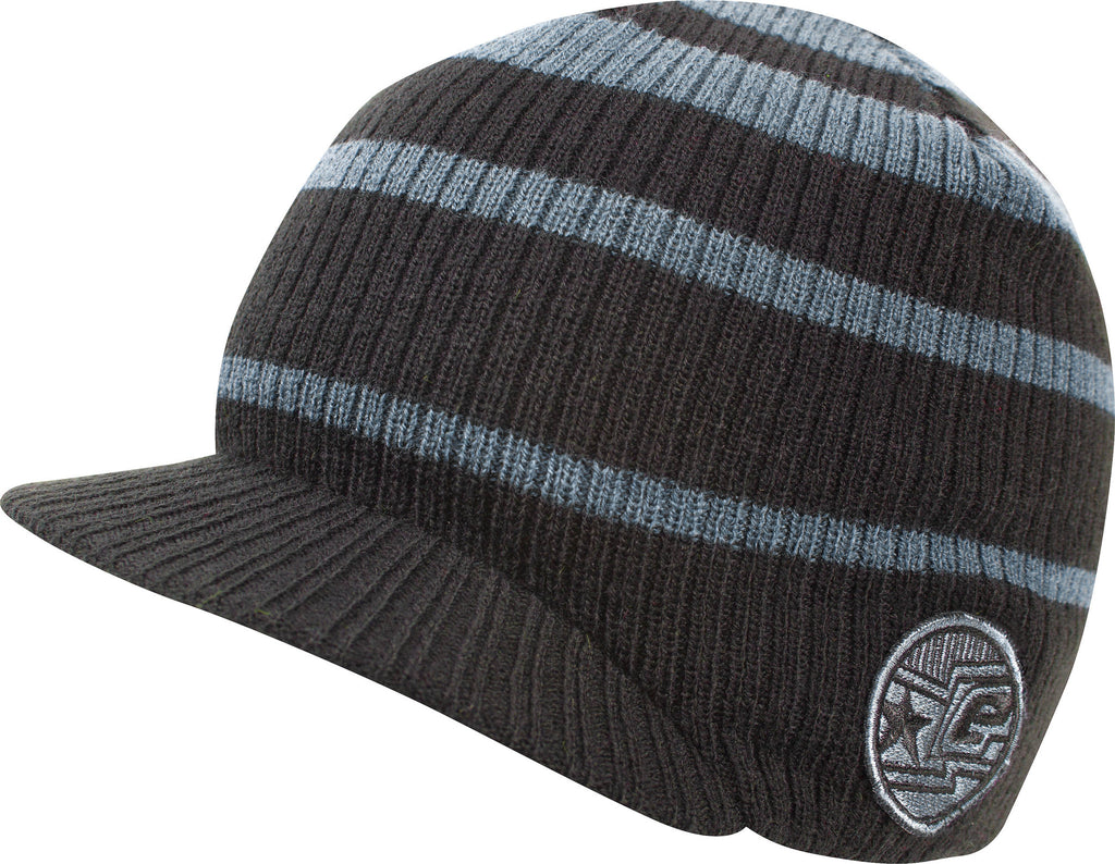 Planet Eclipse 2013 Tide Visor Beanie - Black Slate
