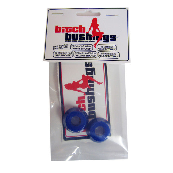Khiro Bitch Skateboard Bushing Set Soft Top/bottom - Blue (2 PC)