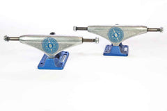 Orion Superior Marty Murawski Pro Skateboard Trucks - 140mm - Silver/Blue (Set of 2)