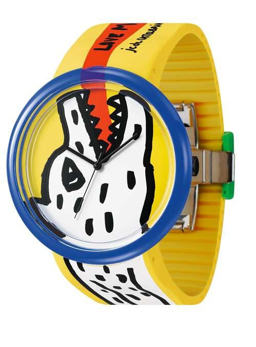 JCDC Time Gallery Watch - Yellow