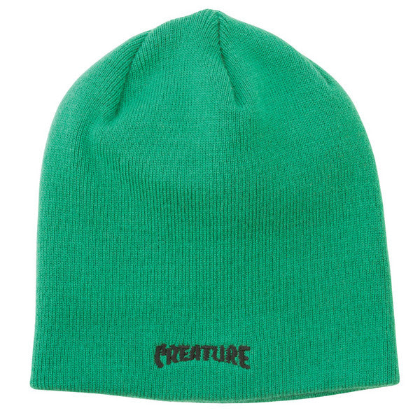 Creature The Bible Skull Men's Beanie - Hunter Green