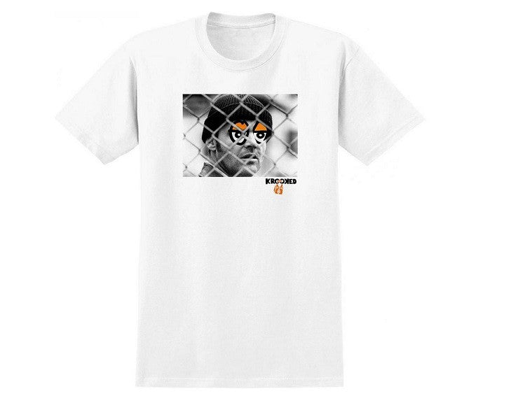 Krooked Kuckoo Premium S/S - White - Men's T-Shirt