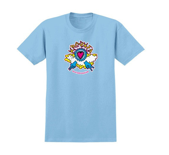 Krooked Kumulus S/S - Light Blue - Men's T-Shirt