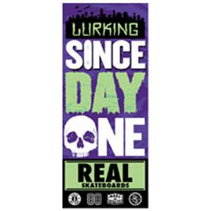 Real Since Day One Bold Lurking Sticker - Medium - Assorted