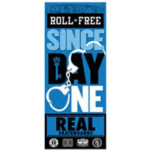 Real Since Day One Bold Roll Sticker - Medium - Assorted Colors