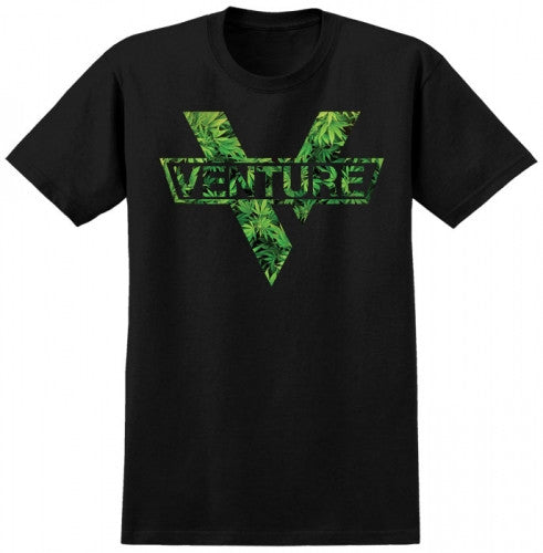 Venture Home Grown Premium Men's T-Shirt - Black