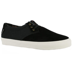 Lakai MJ Men's Skateboard Shoes - Black Suede