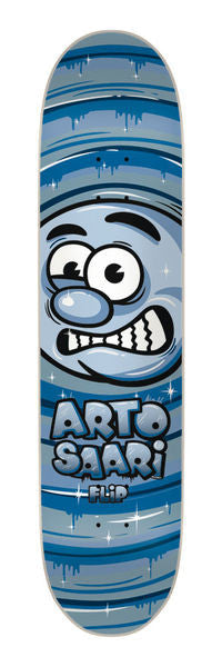 Flip Saari Moonbeam 2 Skateboard Deck - Navy/Grey - 8.1in