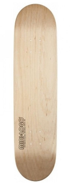 Mini Logo Blank Skateboard Deck - Natural - 7.625in