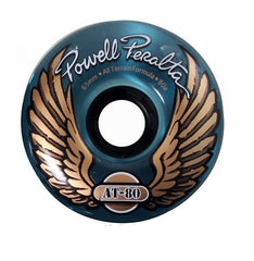 Powell Peralta AT-80 - Clear Blue - 65mm 80a - Skateboard Wheels (Set of 4)