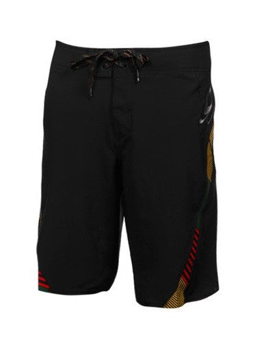 O'Neill Superfreak Men's Boardshorts - Black/Rasta
