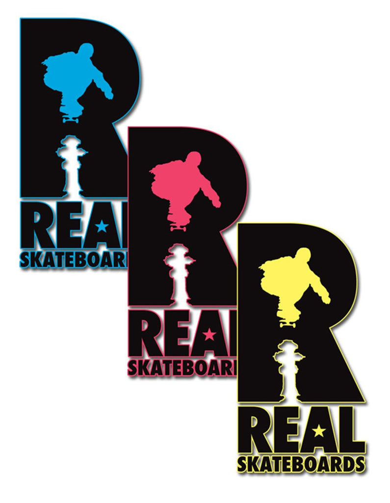 Real Hydrant Sticker - Medium - Assorted Colors