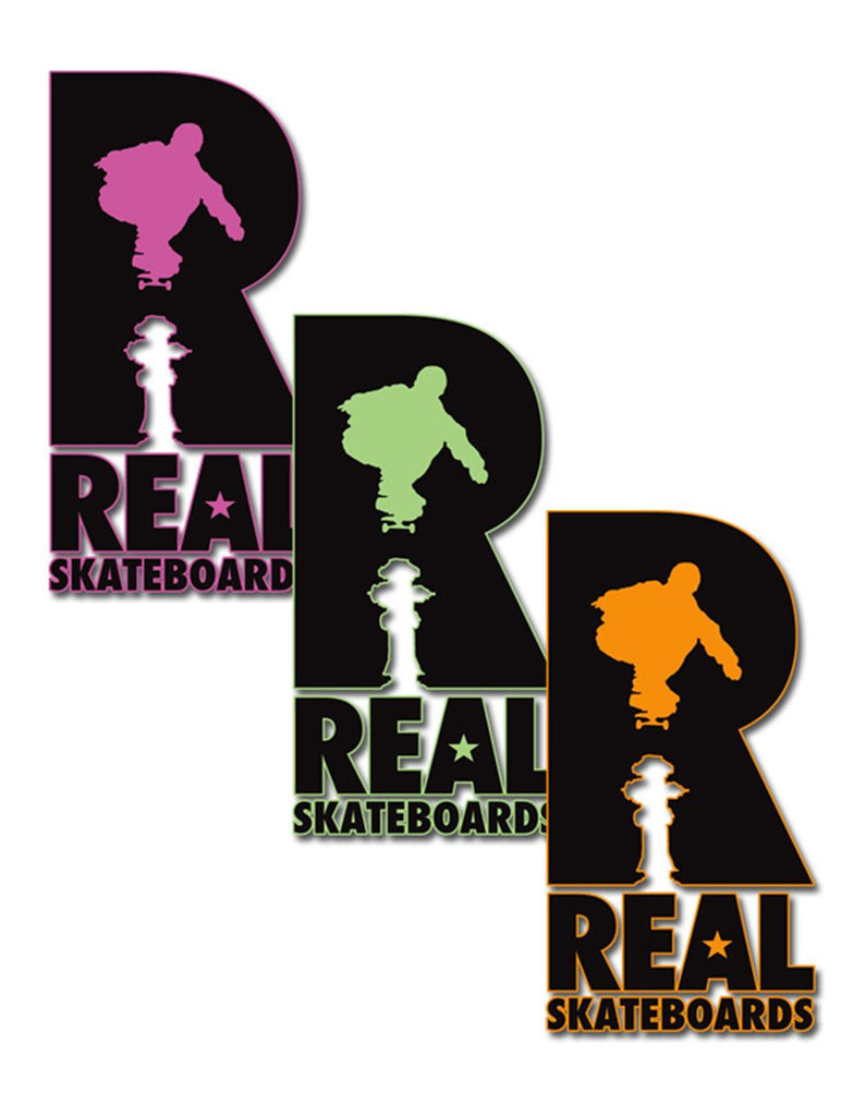 Real Hydrant Sticker - Large - Assorted Colors