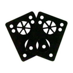 Riot Gear Riser Vibra Pads - Black - 1/8in - Skateboard Riser (2 PC)