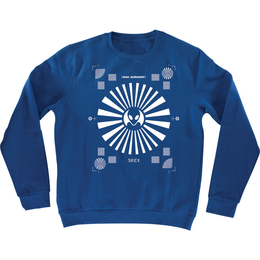 Alien Workshop Screentest Men's Sweatshirt - Royal Heather