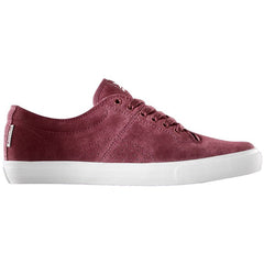 Dekline Bennett Skateboard Shoes - Russet/White Canvas