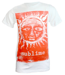 Sublime Band Orange Sun Glow T-Shirt - White