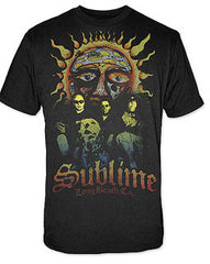 Sublime Band Photo Sun T-Shirt - Black