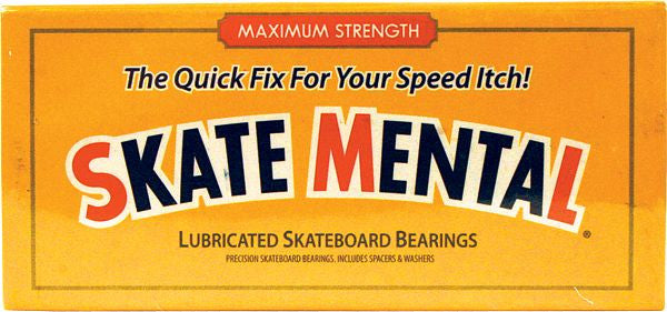 Skate Mental Speed Itch Skateboard Bearings (8 PC)