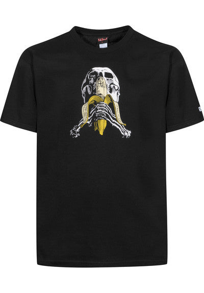 Blind Skull & Banana Slim Tee - Black - Mens T-Shirt