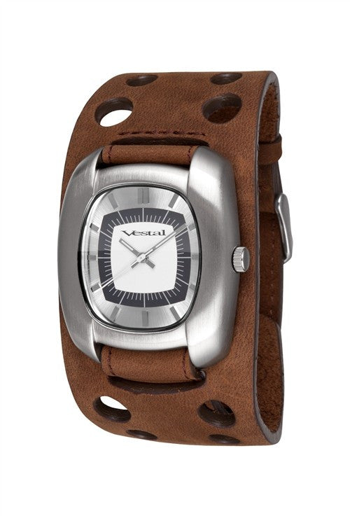 Vestal Super Fi Mens Watch - Brown