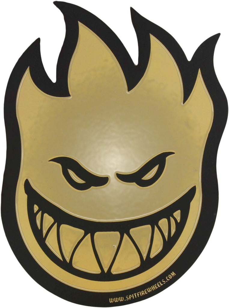 Spitfire Fireball Fort Knox Sticker - Large