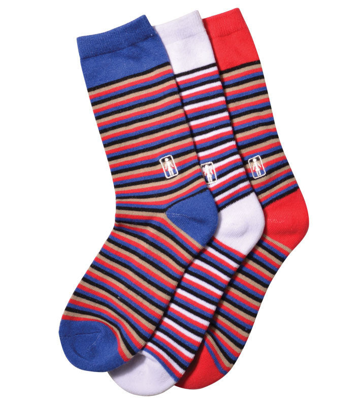 Girl Stripe - Red - Men's Socks (1 Pair)