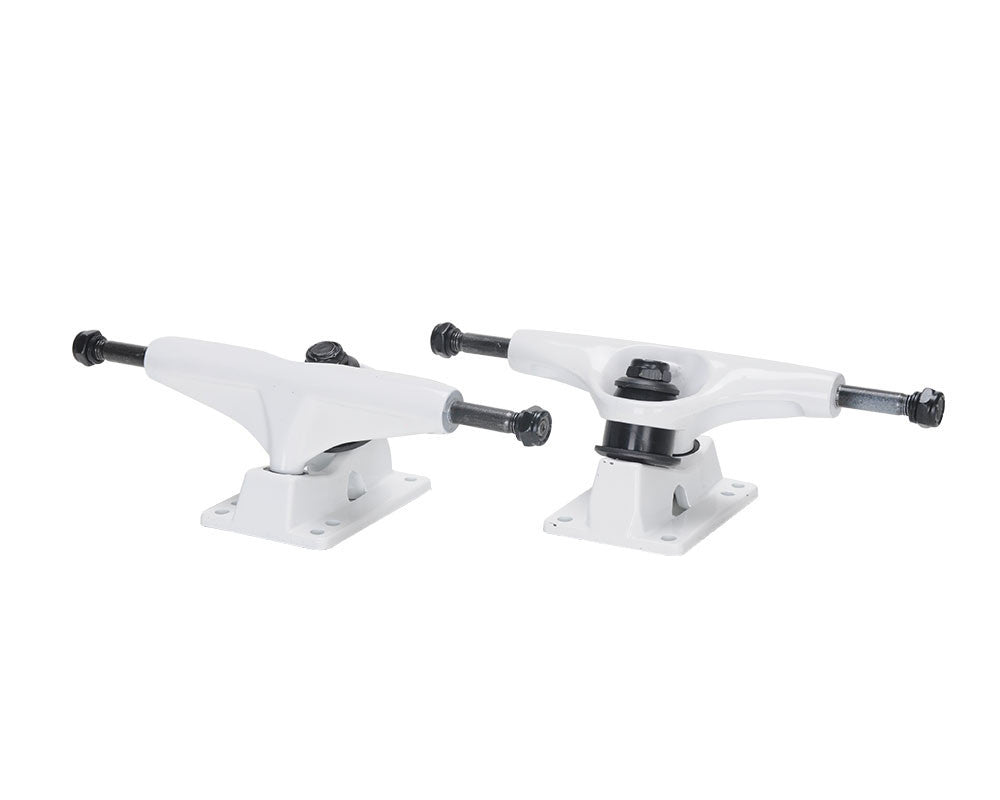Skate America Toro Skateboard Trucks - White (Set of 2)