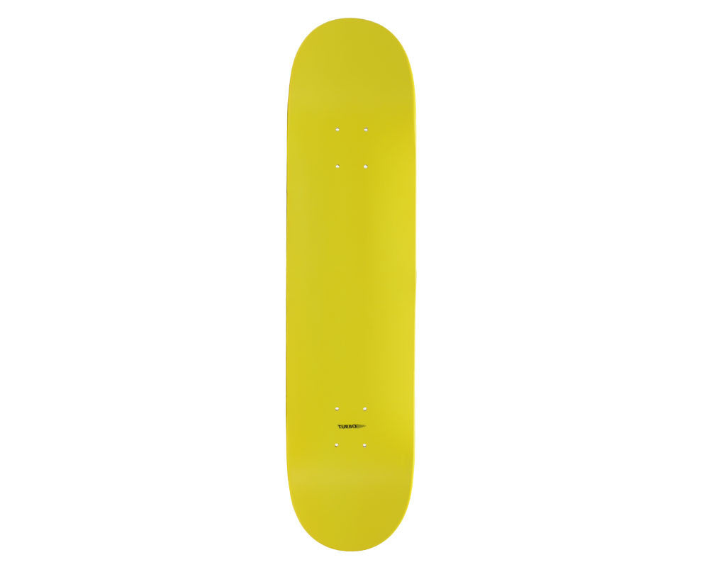 "Skate America Blank Skateboard Deck 7.5"" - Yellow Dipped"