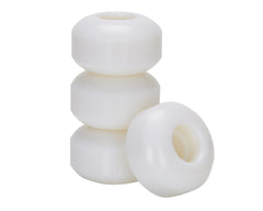 Skate America Defender Skateboard Wheels 54mm 102a - White (Set of 4)