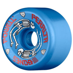 Powell Peralta G Bones Skateboard Wheels 64mm - Blue (Set of 4)