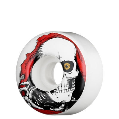 Powell Peralta Ripper Skateboard Wheels 54mm - White (Set of 4)
