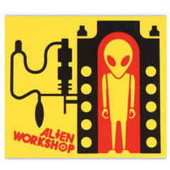 Alien Workshop Incubator 3-Color Sticker