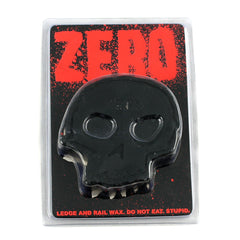 Zero Skull Skateboard Wax - Black