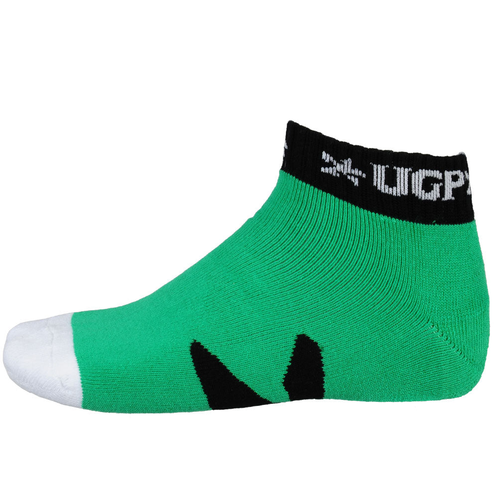 Underground Products Low Cut Men's Socks - Zombie Green (1 Pair)
