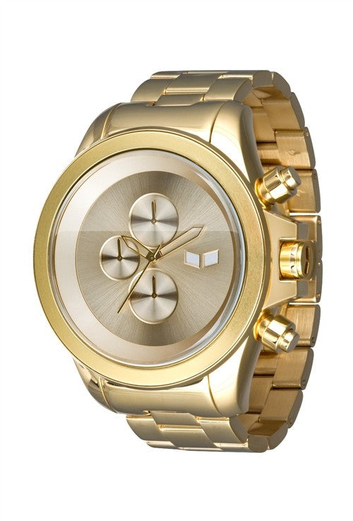 Vestal ZR-3 Minimalist Mens Watch - Gold