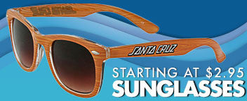 Sunglasses Starting at $2.95
