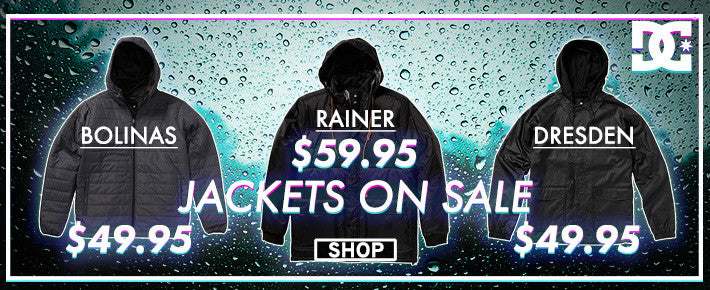DC Jackets on Sale
