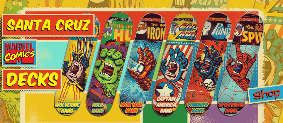 Santa Cruz Marvel Decks