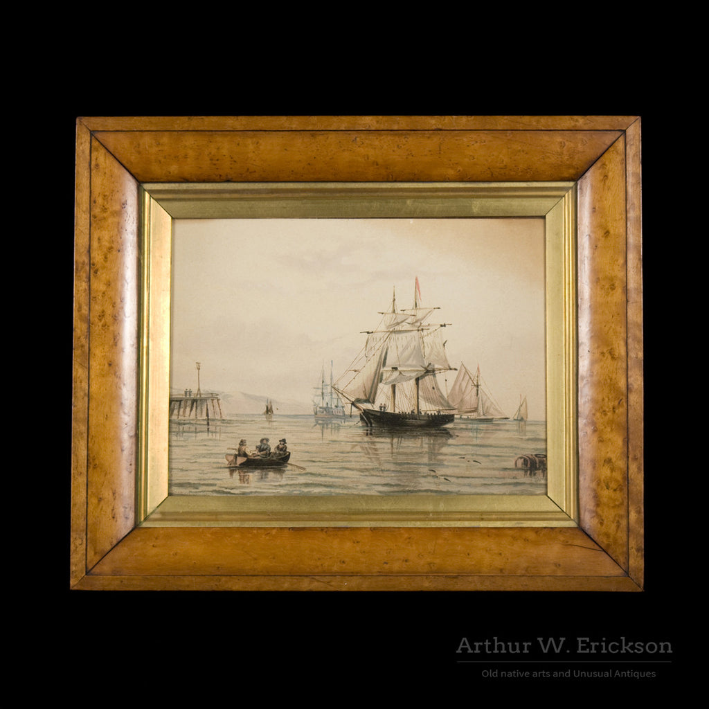 English Nautical Painting - Arthur W. Erickson - 1
