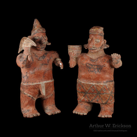 "Nayarit Standing ""Marriage Couple"" - Arthur W. Erickson - 1"