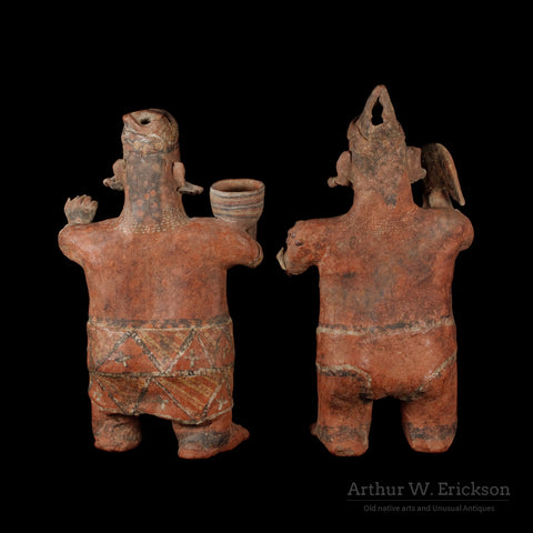 "Nayarit Standing ""Marriage Couple"" - Arthur W. Erickson - 2"