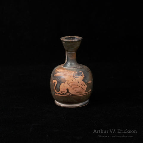Greek Attic Red Figure Squat Lekythos - Arthur W. Erickson - 1