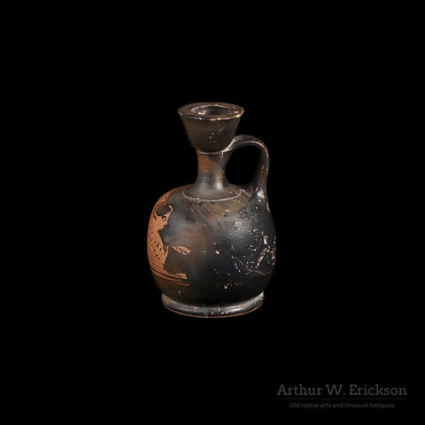 Greek Attic Red Figure Squat Lekythos - Arthur W. Erickson - 3