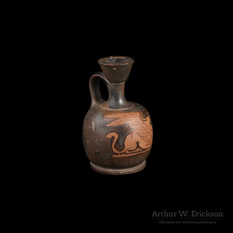Greek Attic Red Figure Squat Lekythos - Arthur W. Erickson - 7