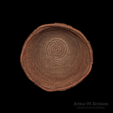 Figured Fully Imbricated Klickitat Basket - Arthur W. Erickson - 6
